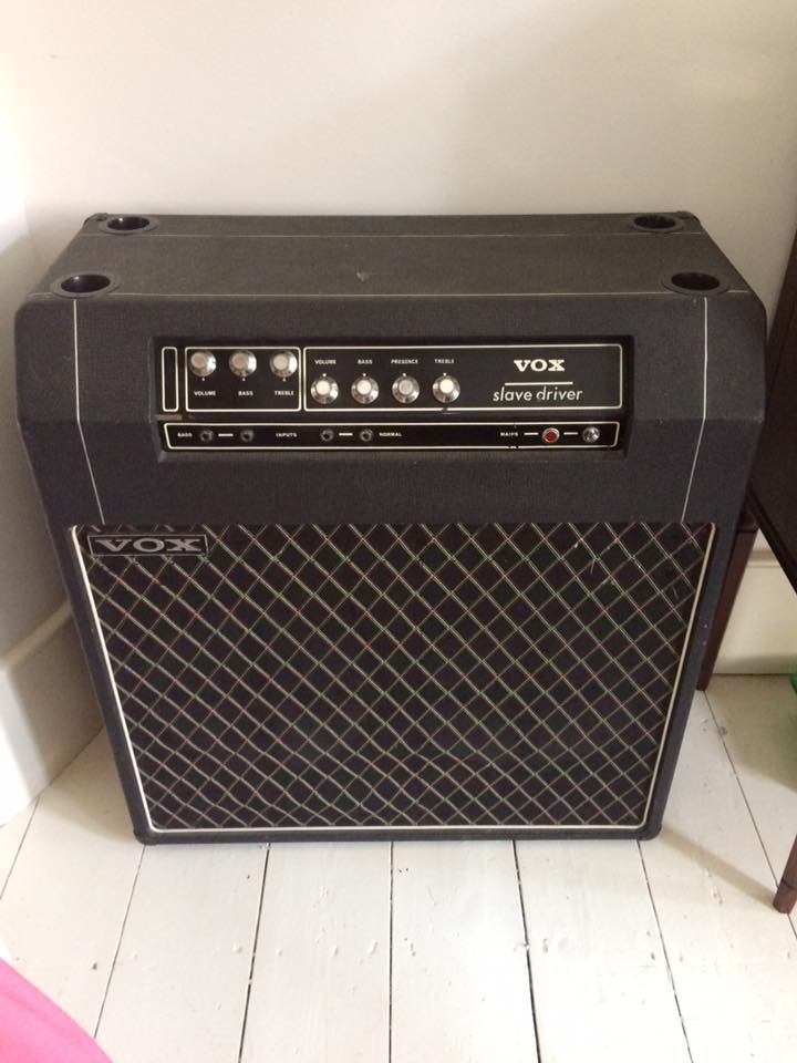 Slave driver amplifier combo - made by Vox Sound Limited