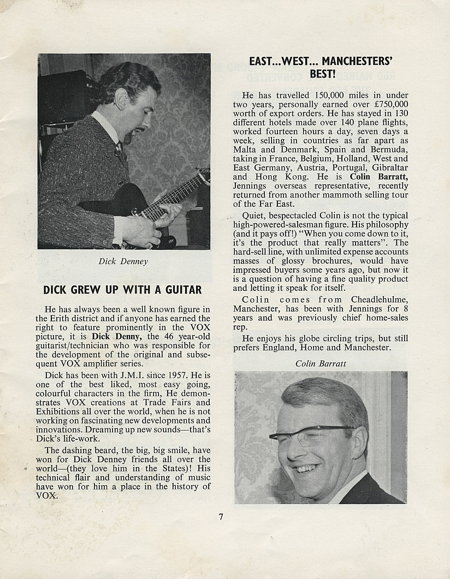 The Beacon journal, July 1967, Dick Denney at Royston Industries head office