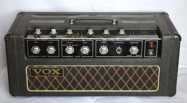 Vox Supreme amplifier, late JMI