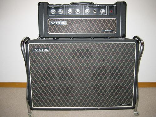 Vox Sound Limited Defiant amplifier and speaker cabinet