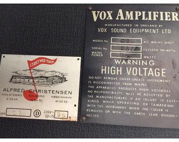 Vox Conqueror serial number 2377