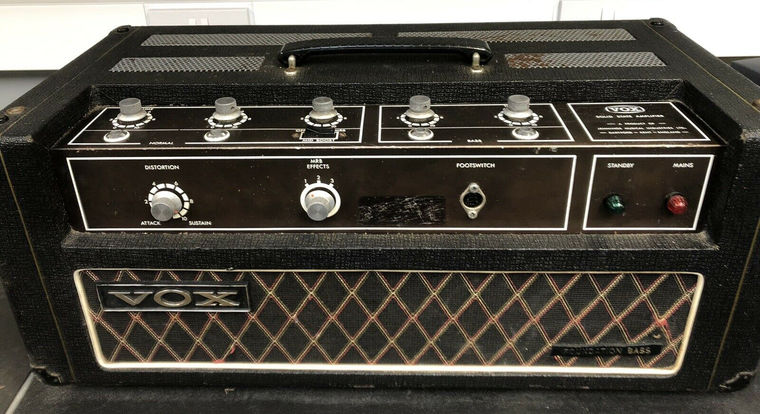 Vox Foundation Bass serial number 1150