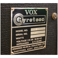 Vox Gyrotone I, 1967, Jennings Musical Industries