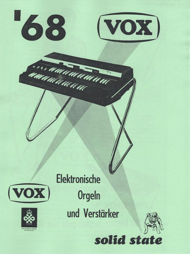 JMI german catalogue, 1968, front cover