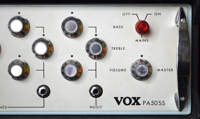 Vox PA50SS public address amplifier from 1972