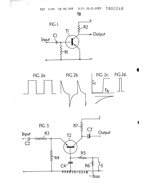 Vox Sound Equipment Limited, patent