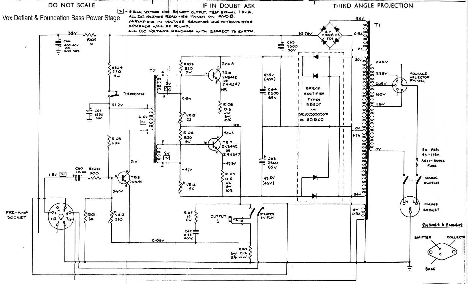 Vox Solid State schematics on motor schematics, radio schematics, speaker schematics, generator schematics, wire schematics, ic circuit schematics, modem schematics, led schematics, orange amp schematics, robot schematics, guitar schematics, valve schematics, ulf receiver schematics, audio circuit schematics, electronic circuit schematics, astable multivibrator schematics, computer schematics, heathkit schematics, transformer schematics, tube schematics,