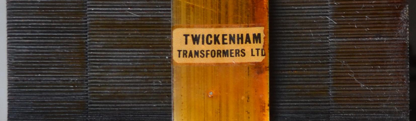 Vox Defiant, 1969, Twickenham Transformers (Stolec) power transformer