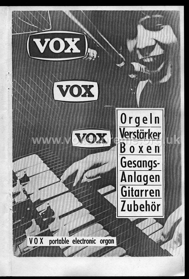 VSEL German catalogue, 1969, front page