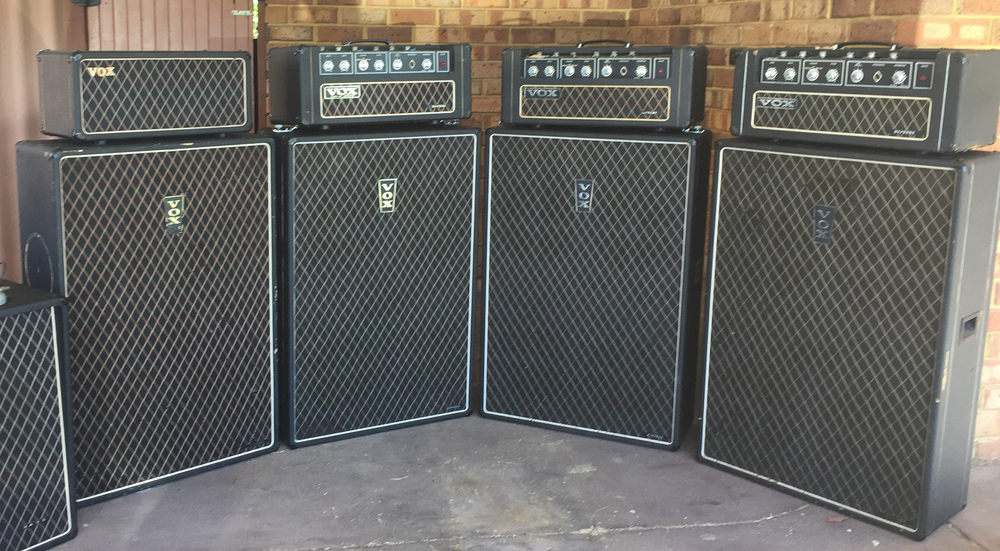 Vox Sound Limited Supreme speaker cabinets