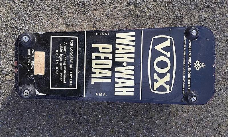 Vox Wah Wah pedal, Queen's export symbol 1967